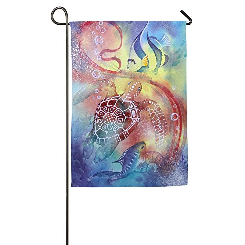 MIMIToo Home Garden Flags Two-Sided Summer Flag 12 x 18 Inch