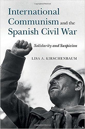 International Communism and the Spanish Civil War: