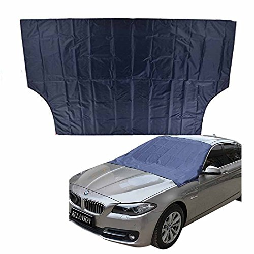 Windshield Snow Cover for Car Window – Lightweight Seasonable Universal Frost Windshield Cover Sun-proof Cover Ice Cover for Car, SUV, Truck, Van (70″x 54″)