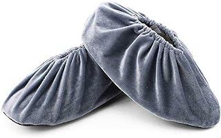 Couvre-Chaussures Réutilisables D'Aolvo, Couvre-Chaussures Lavables Antidérapants Couvre-Bottes épaissis la Maison, Atelier sans Poussière Couvre-Chaussures Lavables Antidérapants Couvre-Bottes épaissis la Maison