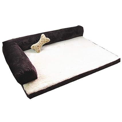 Cama perro Camas para Perros pequeñas, sofá Cama ortopédico Indestructible para Mascotas con Funda Lavable