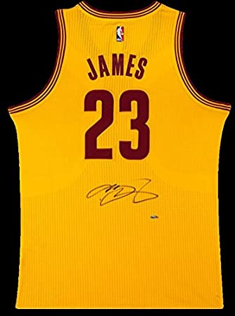 quality design 635da 97924 LeBron James Autographed Cleveland Cavaliers Authentic ...