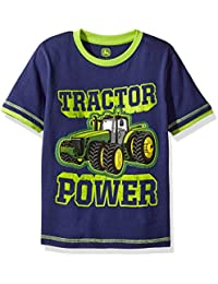 Big Boys' Tractor Power Cotton Tee