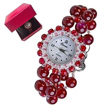CWYPB Reloj de Pulsera de Cristal Natural, Pulsera con ...