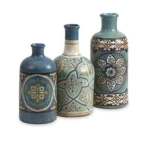 73137 3 Kabir Painted Bottles 3 Pack