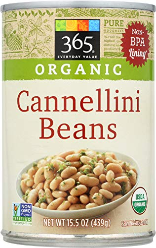 - 365 Everyday Value, Organic Cannellini Beans, 15 oz