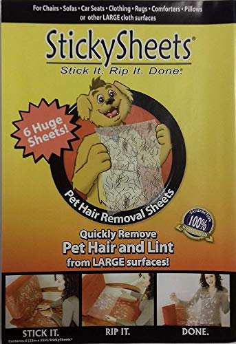 Sticky Sheets( Sticky Sheets 12 Pack ) (Sticky Sheets)