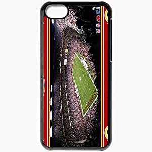 Personalized iPhone 5C Cell phone Case/Cover Skin 1113 washington redskins Black