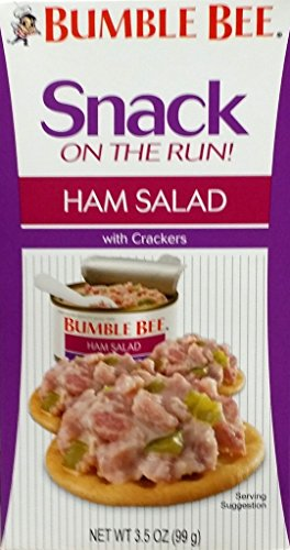 Bumble Bee Snack on the Run Ham Salad 3.5 Oz (Pack of (Bumble Bee Salad)