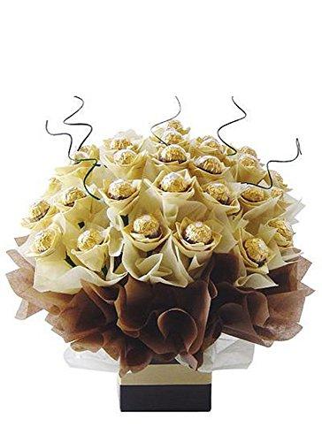 Bouquet Delight (Grand Delights Ferrero Rocher Chocolate Candy Bouquet)