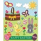 K&Company Easter Sticker Medley