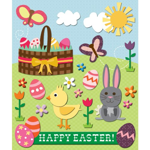 K&Company Easter Sticker Medley