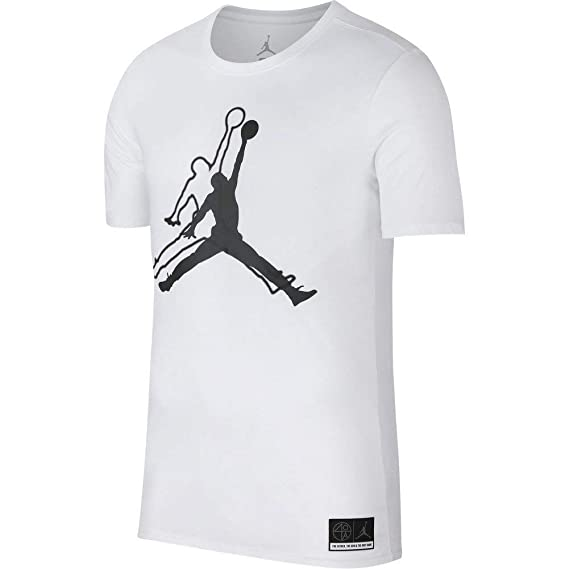 04c062643f4 Jordan Sportswear Jumpman He Got Game T-Shirt Men White: Amazon.co.uk:  Clothing
