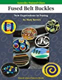 Aanraku Stained Glass Pattern Book Fused Belt Buckles
