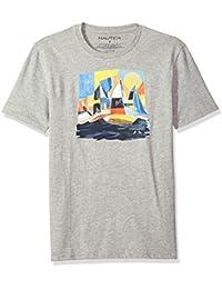 "<span class=""a-offscreen"">[Sponsored]</span>Men's Short Sleeve Signature Graphic Crewneck T-Shirt"