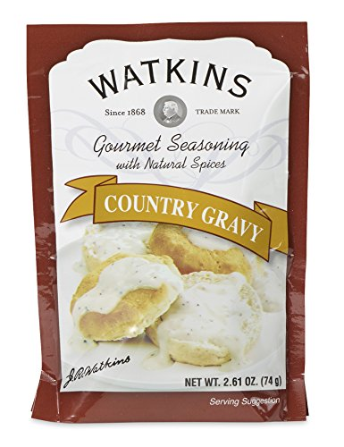 Watkins Gourmet Seasoning with Natural Spice Mix, Country Gravy, Pack of 12