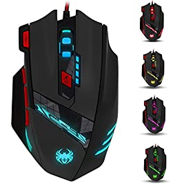 Gaming-Mouse-High-9200-Dpi-KingTop-Wired-Ergonomic-Led-Gaming-Mouse-Twitch-Streaming