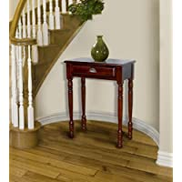 D-ART Savana Entrance Hall Table 1 Drawer in Mahogany Wood