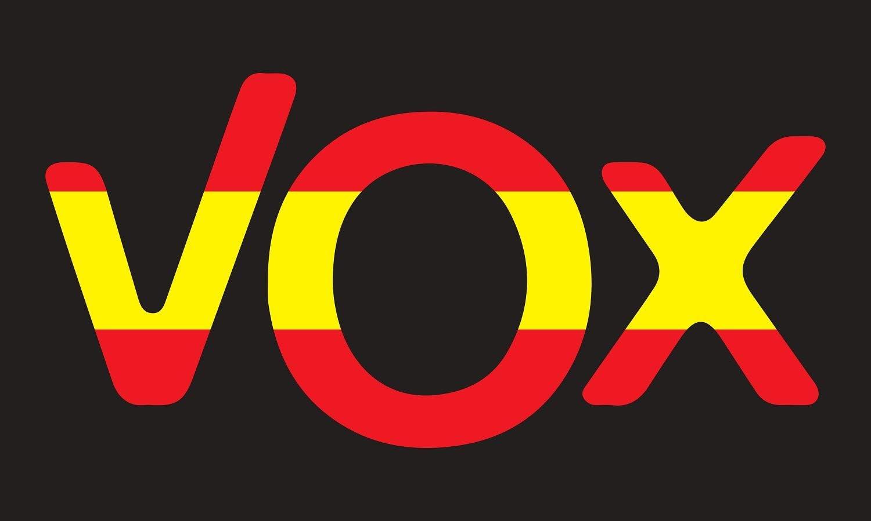 NEWTORO Bandera de España VOX Negro de 150 x 90 cm Durabol: Amazon.es: Jardín