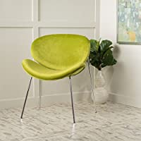 Jayne New Velvet Contour Chair