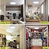 Flush Mount LED Ceiling Light Fixture-24W Soft
