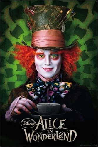 Mad Hatter Johnny Depp Poster - Mad Hatter Costume Ideas
