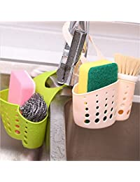 Buy 1 Piece New Kitchen Gadgets tableware Sink rack storage basket,Bathroom Soap Hanging Shelving water Faucet laundry... compare