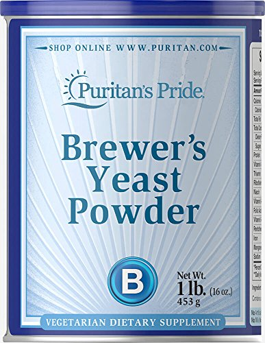 Puritan's Pride Brewer's Yeast Powder-16 oz Powder