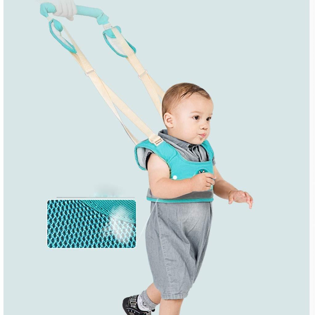 Color : Blue, Size : 60cm Babyr/ückentragen Kinder gegen verlorenes Seil einziehbares Baby Lernen gehen Sicherheitsrucksack Artefakt gegen verlorenes Seil