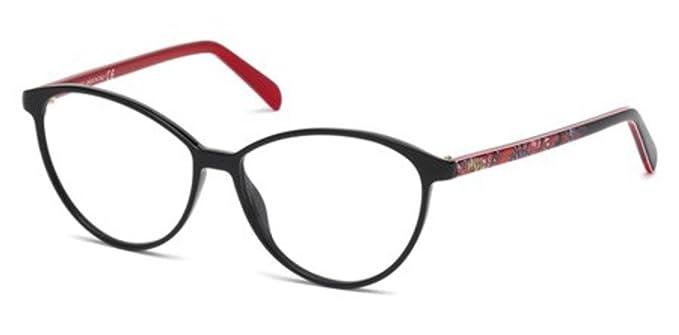 d21798270e Image Unavailable. Image not available for. Color  Emilio Pucci EP5047  Eyeglasses 54 001 ...