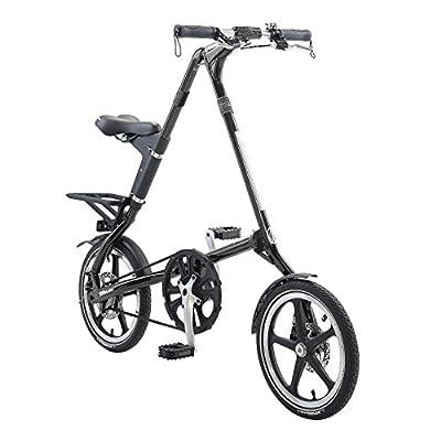 STRiDA LT Folding Bicycle, unique design, folds to 45x20x9, 16 inch wheels, Unisex