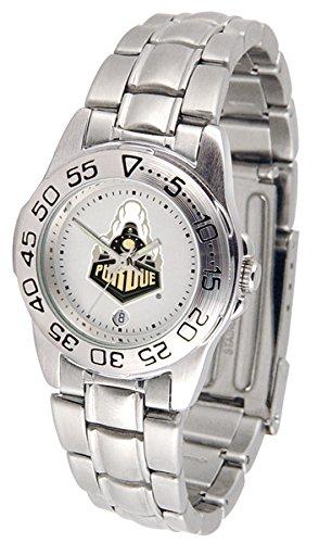 Purdue Sport Women's Steel Band Watch