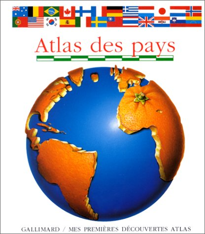 Atlas des pays Album – 6 septembre 1994 Claude Delafosse Donald Grant Editions Gallimard 2070582795