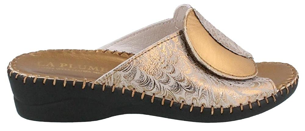 Copper Ice 37 La Plume Womens Paola Sandal Size
