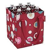 reisenthel Bottlebag, 9-Bottle-Bag, Shopping Carry Bag, Funky Dots 2 (Red), ZJ3048