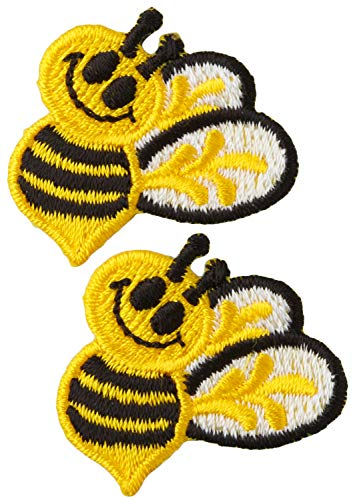 Bee Applique - Wrights Iron-On Appliques-Bumble Bees 1