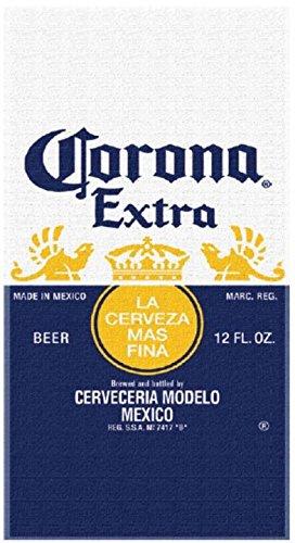 Licensed Corona Extra Logo 30x60 Cotton Velour Beach Towel