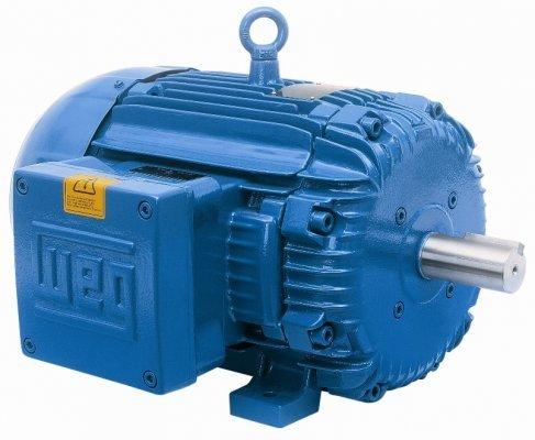 - WEG - 00518ET3E184TC-S; 5HP 1800 3 60 208-230/460V - RS - NEMA PR; WEG Motors; MOTR-WEG