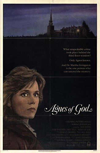 AGNES OF GOD (1985) Original Movie Poster 27x40 - ROLLED - Single-Sided - Jane Fonda - Anne Bancroft - Meg Tilly - Anne -