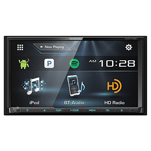 Kenwood DDX774 / DDX774BH DDX774 2 Din Receiver w/ Bluetooth and HD Radio