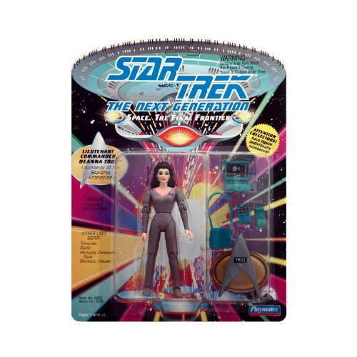 (Star Trek: The Next Generation Lieutenant Commander Deanna Troi Action Figure 4.75 Inches)