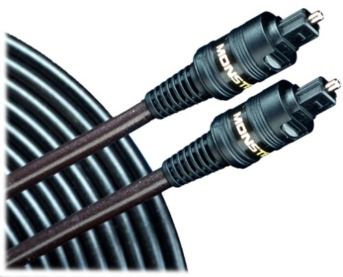 Monster ILS100-1M LightSpeed High Performance Toslink Fiber Optic Audio Cable (1 meter) (Discontinued by Manufacturer) (Digital Monster Coaxial)