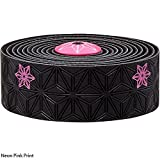 Supacaz Super Sticky Kush Galaxy Bar Tape (Neon Pink Print)
