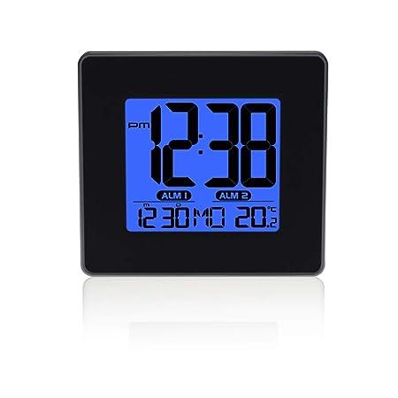 Yxx max *Reloj de Mesa LED Reloj Digital Temporización de Reposo ...
