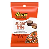 REESE'S Sugar Free Peanut Butter Cups Miniatures, Halloween Candy, Chocolate Candy, 3 Ounce (Pack of 12)