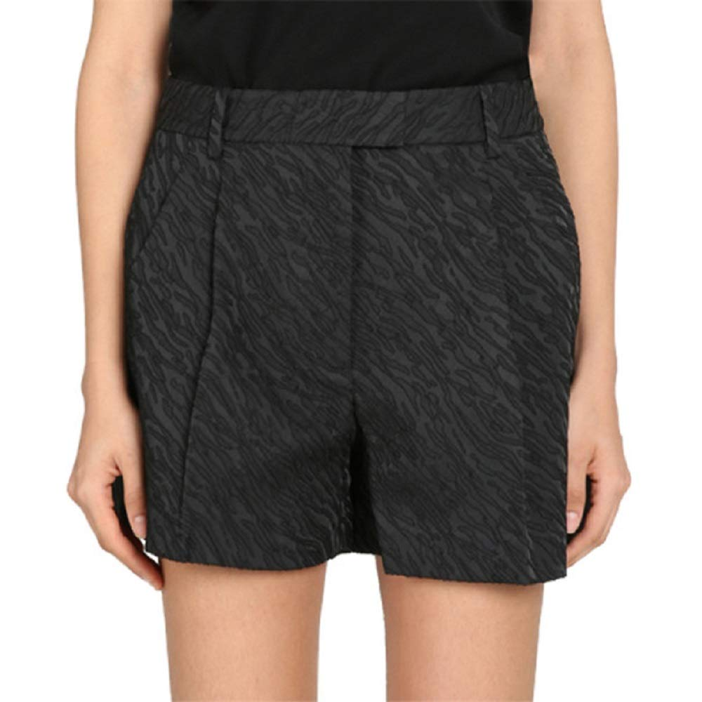 Image of Active Shorts 3.1 Phillip Lim Black Cuffed Bermuda Shorts 6