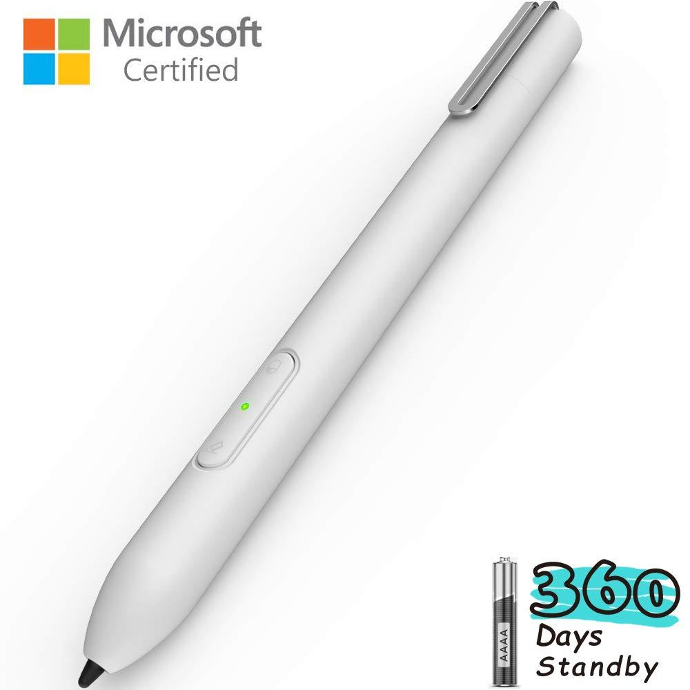 Surface Pen Microsoft Certified, LACORAMO Surface Pro Pen with Palm Rejection, 4096 Pressure Sensitivity, Automatic Dormant Active Stylus for Surface Pro 6/5/4/3, Pro 2017, Surface go, Surface Book