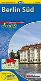 ADFC-Regionalkarte Berlin Süd mit Tagestouren-Vorschlägen, 1:50.000, reiß- und wetterfest, GPS-Tracks Download: Vom Alex zum Blankensee, von Potsdam bis Köpenick (ADFC-Regionalkarte 1:50000)