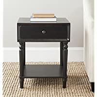 Safavieh American Homes Collection Siobhan Black Accent Table
