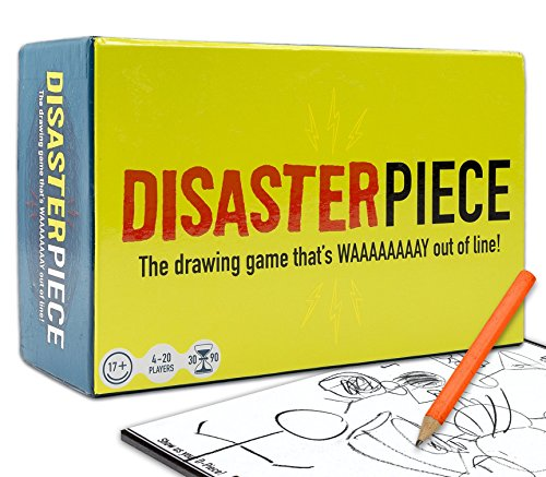 DISASTERPIECE - The Adult Party Drawing Game That's Way Out of Line by Disasterpiece